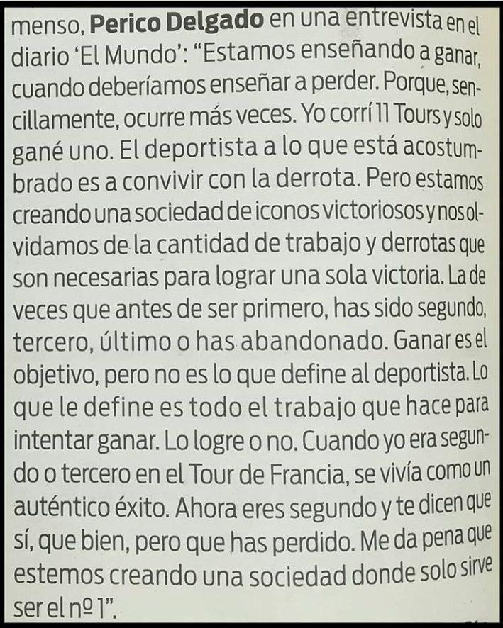 Perico Delgado: